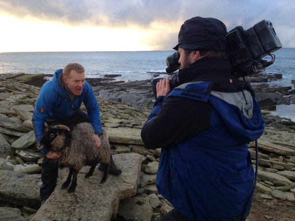Countryfile visit the NR sheep